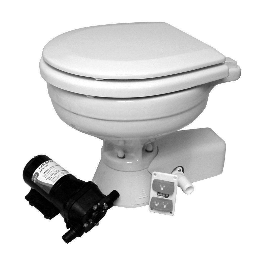 jabsco quietflush electric toilet 37245