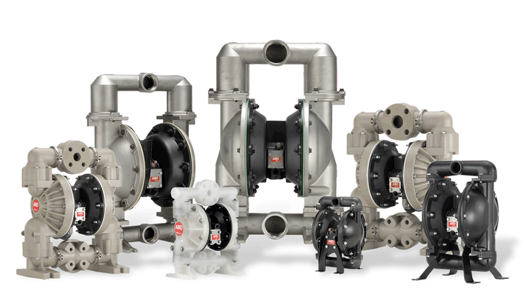 ARO Air Operated Pneumatic Stainless-Steel Pumps | Wastewater Treatment Pump